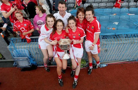Gerry and Ina O'Sullivan with their daughters Meabh, Roisin, Ciara and Doireann O'Sullivan