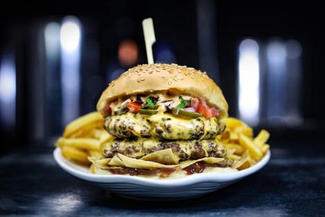 Wing It Nacho Libre Burger