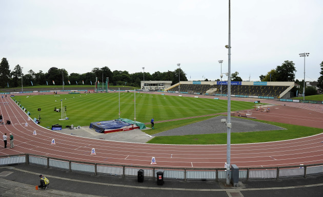 General view of Morton Stadium ahead of the event