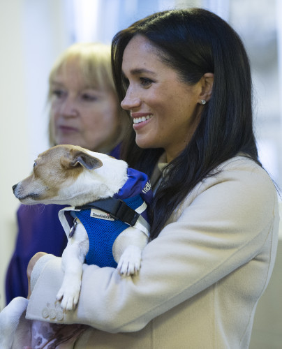 Royal visit to Mayhew charity