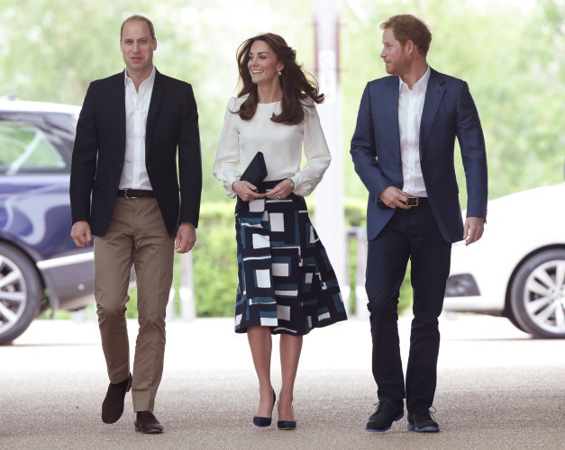 William, Kate and Harry launch Heads Together mental health campaign