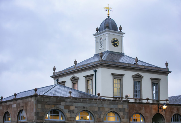 Hillsborough Castle clock tower 2