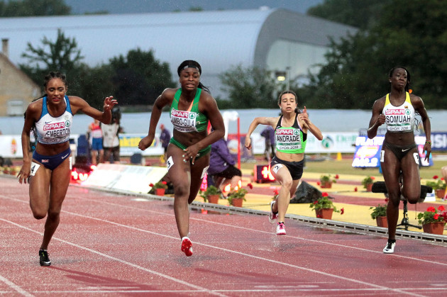 Patience Jumbo-Gula on her way to finishing fifth