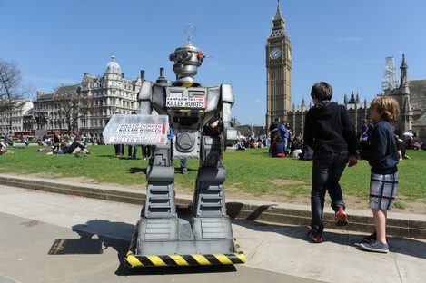 Stop robot weapons campaign
