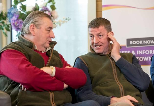 Noel Meade and Gavin Cromwell