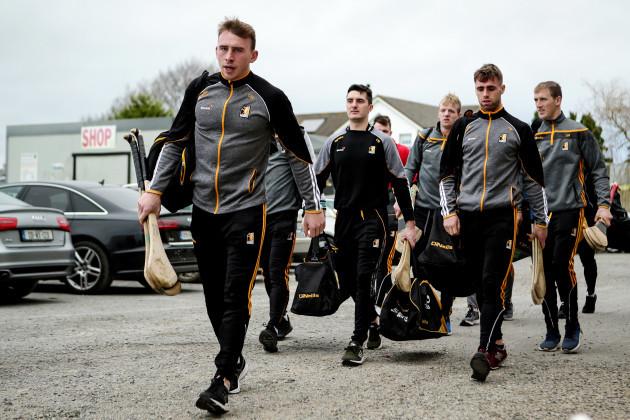 Conor Delaney arrives