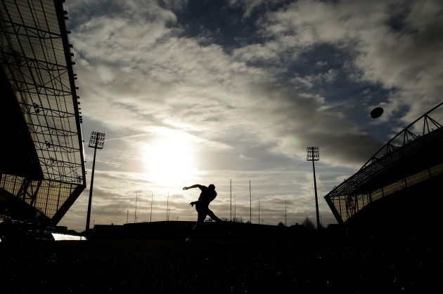 A general view of Thomond Park ahead of the game
