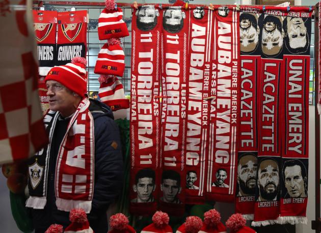 Arsenal v Qarabag - UEFA Europa League - Group E - Emirates Stadium