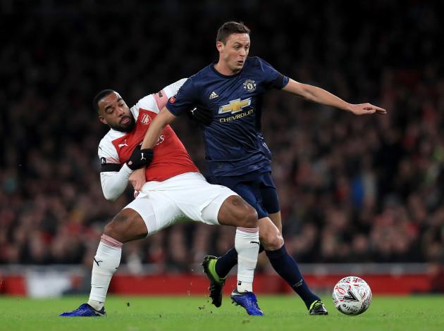 Arsenal v Manchester United - FA Cup - Fourth Round - Emirates Stadium
