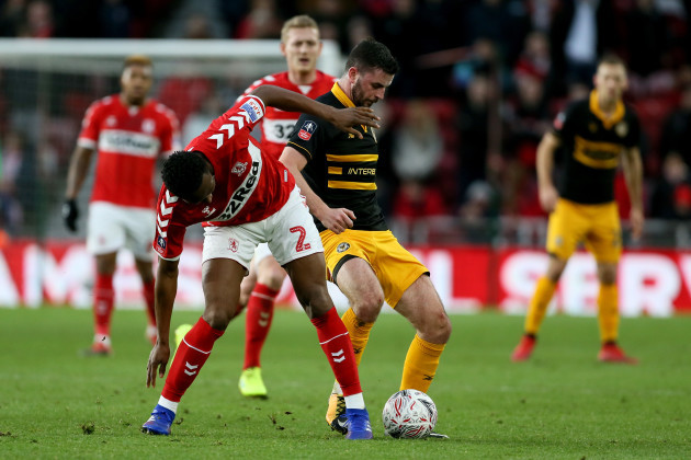Middlesbrough v Newport County - FA Cup - Fourth Round - Riverside Stadium