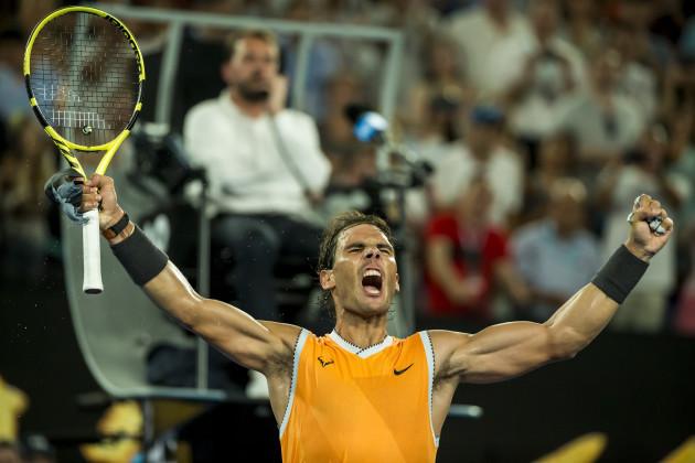 Tennis 2019: Australian Open: Men's Semifinal