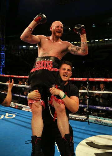 George Groves File Photo