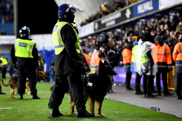 Millwall v Everton - FA Cup - Fourth Round - The Den