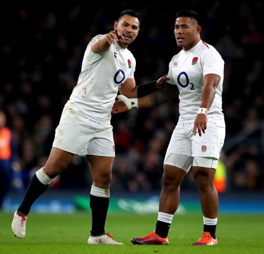 Leicester Centre Manu Tuilagi Is Tackled: Tuilagi Set To Start As England Centre Te'o Ruled Out Of