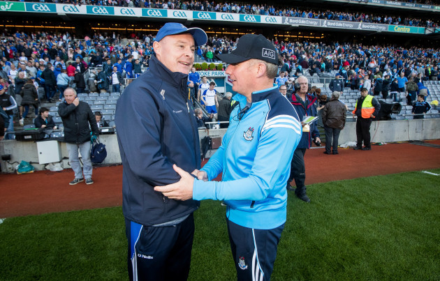 Malachy O'Rourke with Jim Gavin