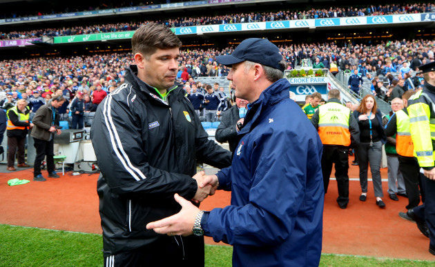 Eamonn Fitzmaurice and Jim Gavin