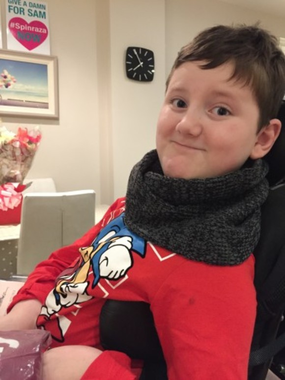 You wouldn't tell a child they couldn't have chemo, but our son is
