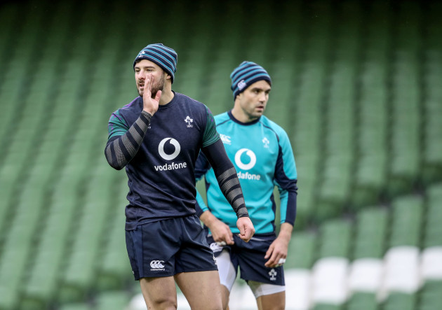 Robbie Henshaw and Conor Murray