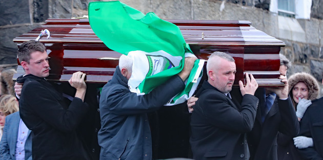 Donegal crash victims funerals