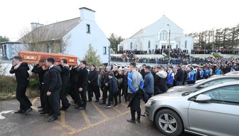 Donegal crash victims funerals