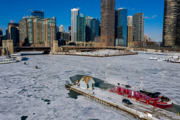 U.S.-CHICAGO-TEMPERATURE-COLDEST-RECORD-BREAKING