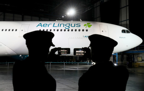 Aer Lingus new branding unveiled