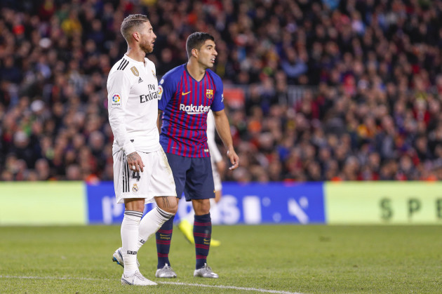 Spain: FC Barcelona v Real Madrid CF - La Liga