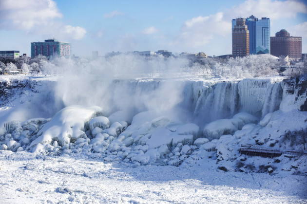 Winter Weather Niagara Falls