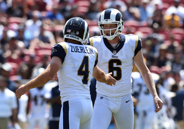 NFL: AUG 18 Preseason - Raiders at Rams