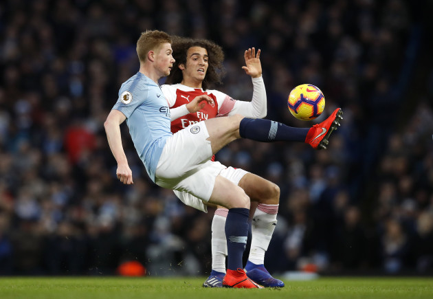 Manchester City v Arsenal - Premier League - Etihad Stadium