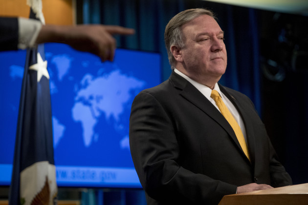Pompeo Russia Arms Treaty