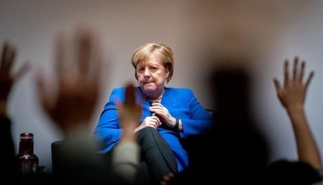 Chancellor Merkel in Japan