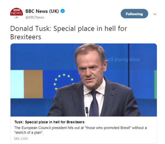 FactCheck: Did Donald Tusk say there was a special place in hell for