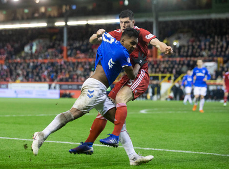 Aberdeen v Rangers - Ladbrokes Scottish Premiership - Pittodrie Stadium