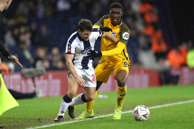 West Bromwich Albion v Brighton and Hove Albion - FA Cup - Fourth Round - Replay - The Hawthorns