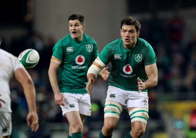 Ireland's Quinn Roux
