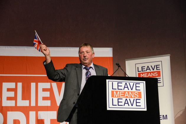 UK: Leave Means Leave rally