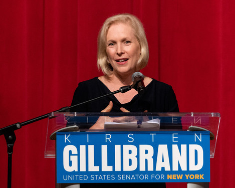 Kirsten Gillibrand at The Riverside Church in New York City
