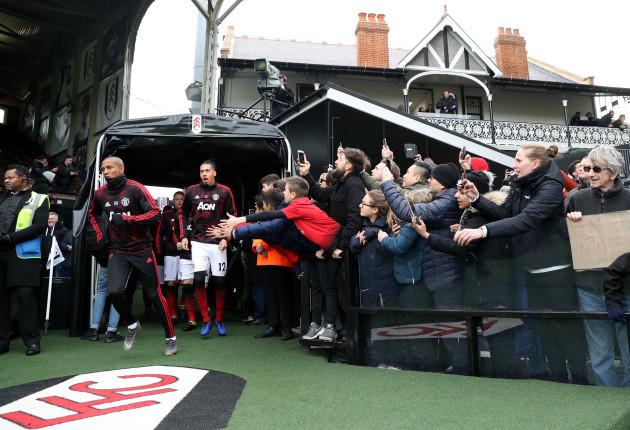 Fulham v Manchester United - Premier League - Craven Cottage