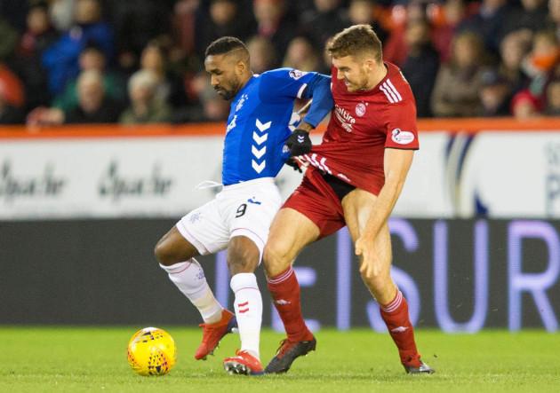 Aberdeen v Rangers - Ladbrokes Scottish Premiership - Pittodrie Stadium