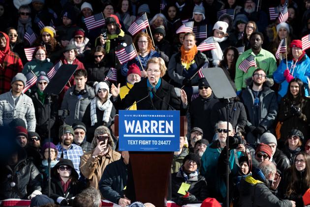 MA: Warren 2020 Campaign Announcement