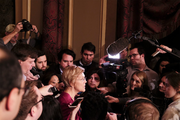 Elizabeth Warren Organizing Campaign Event In Iowa