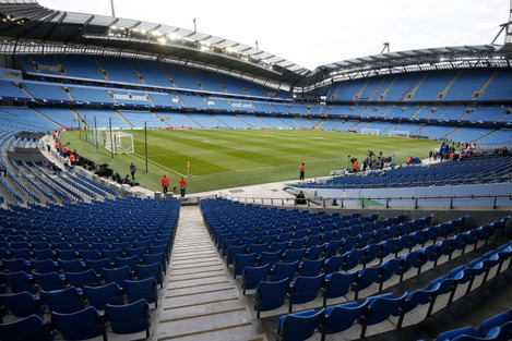 Manchester City v Lyon - UEFA Champions League - Group F - Etihad Stadium