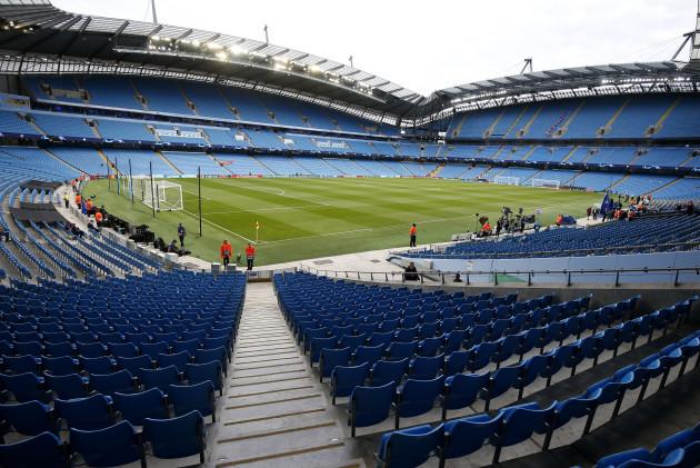 Manchester City v Lyon - UEFA Champions League - Group F - Etihad Stadium