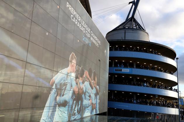 Manchester City v Manchester United - Premier League - Etihad Stadium