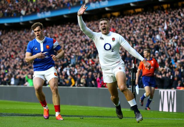 England v France - Guinness Six Nations - Twickenham Stadium