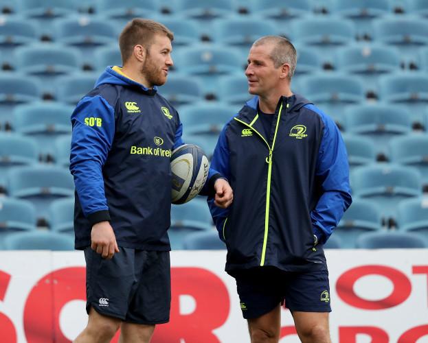 Sean O'Brien and Stuart Lancaster