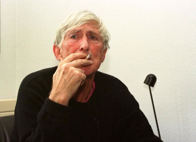 Portrait of Tomi Ungerer at his home
