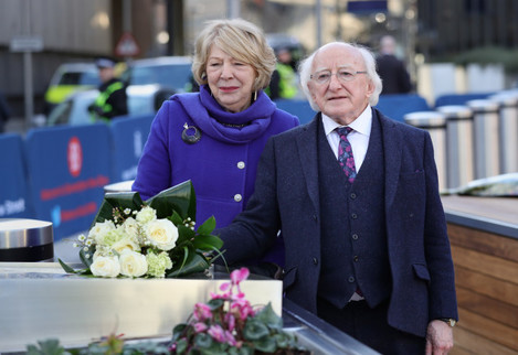 President Michael D Higgins UK visit - Day One