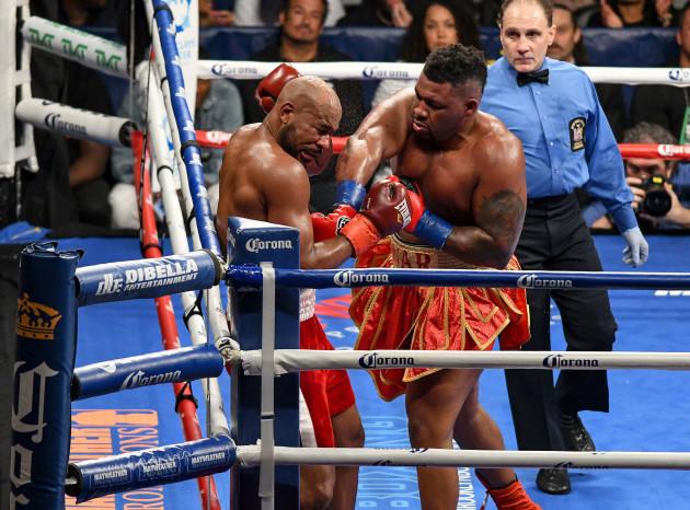 Boxing 2017 - Jarrell Miller vs. Gerald Washington